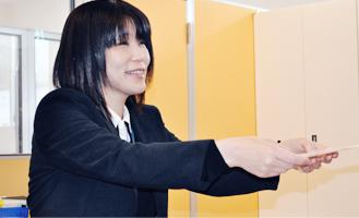 ワークステーション未来 就労支援員 町田かおり